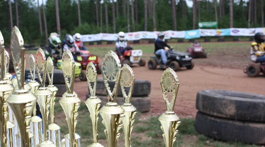 Wisconsin Lawn Mower Racing Trophies
